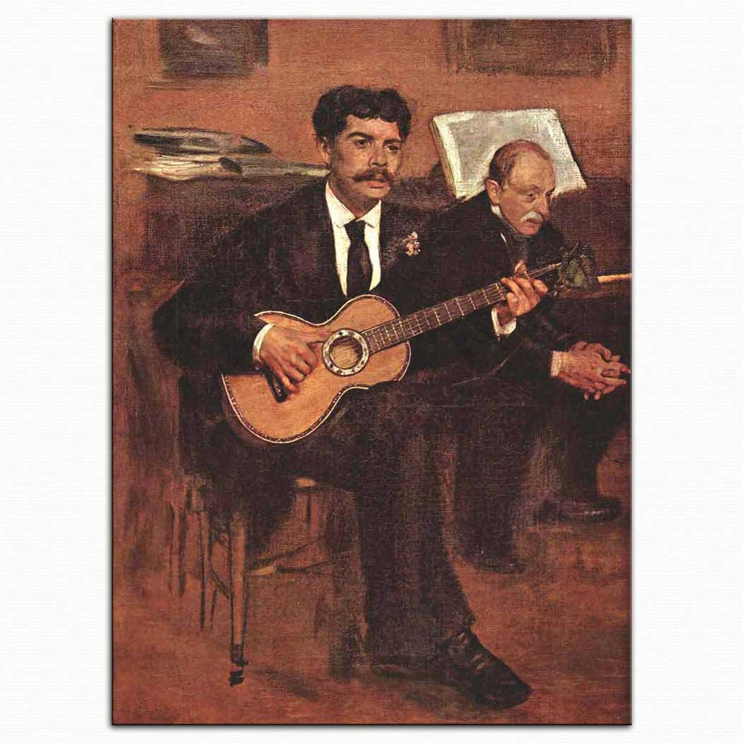 Edouard Manet Gitarist
