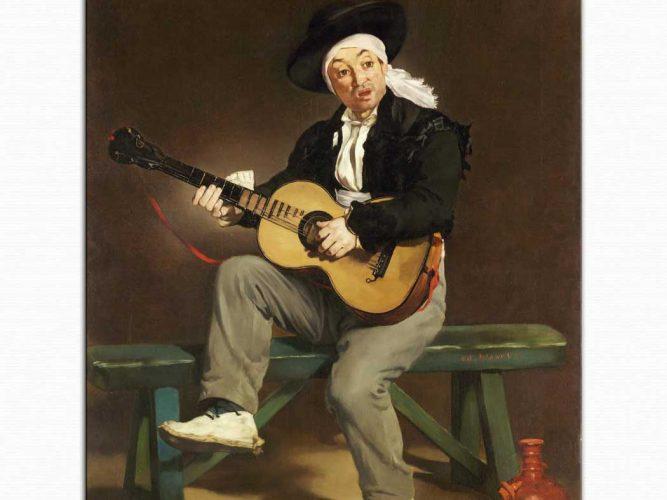 Edouard Manet Ispanyol şarkıcısı