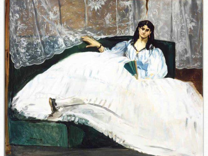 Edouard Manet Jeanne Duval Etüdü