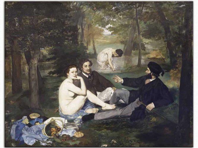 Edouard Manet Kahvaltı