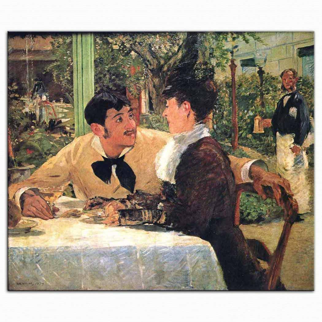 Edouard Manet Lathuille'de