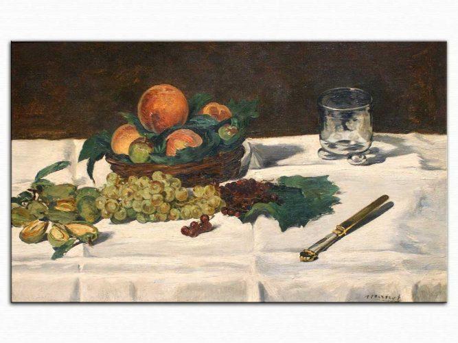 Edouard Manet Meyveli Natürmort