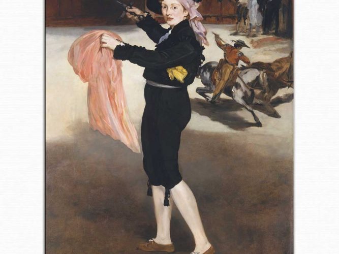 Edouard Manet Mille Victorine Matador Kostümü ile