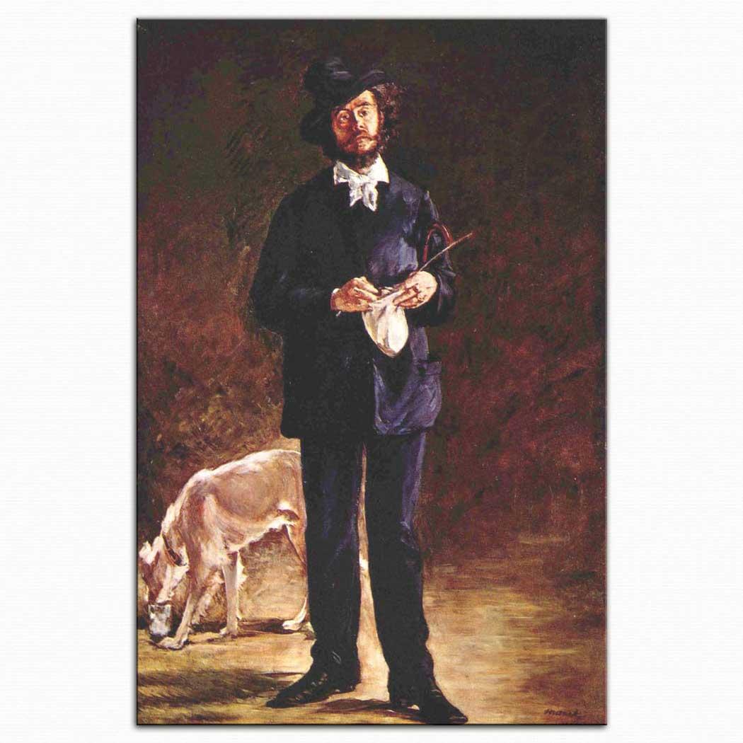 Edouard Manet Mösyö Gilbert Marcellin Desboutin