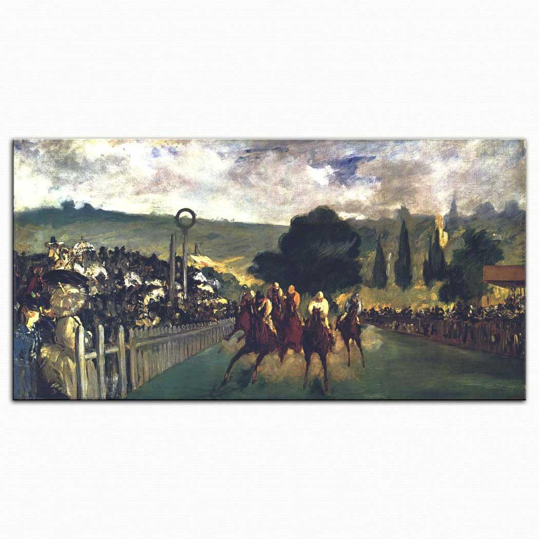 Edouard Manet Paris Yakınlarında Atyarışı