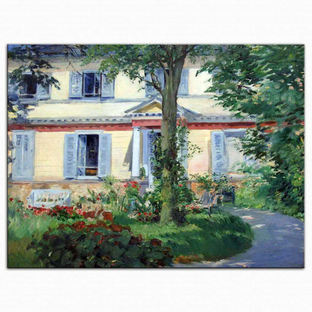 Edouard Manet Rueil'de Ev