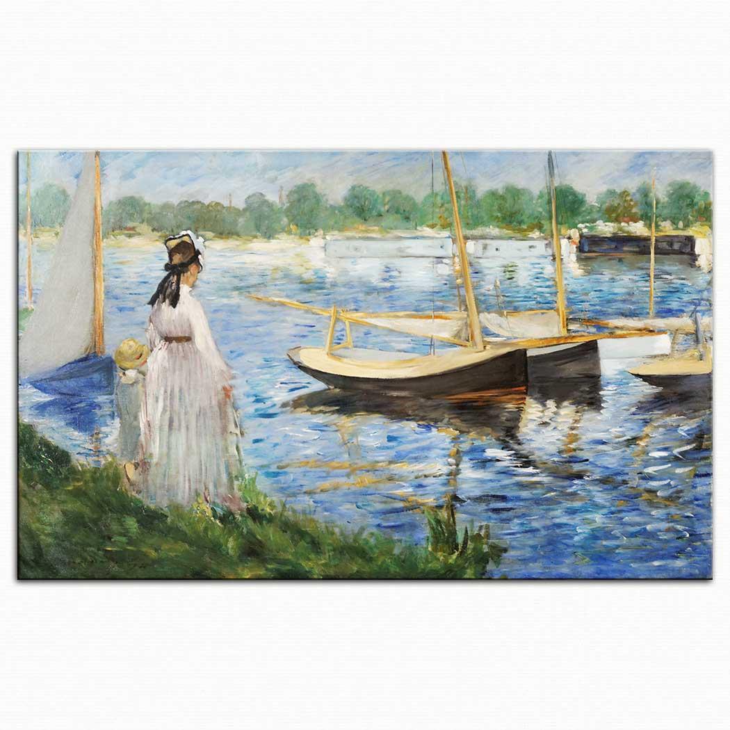 Edouard Manet Seine Kıyısı Argenteuil