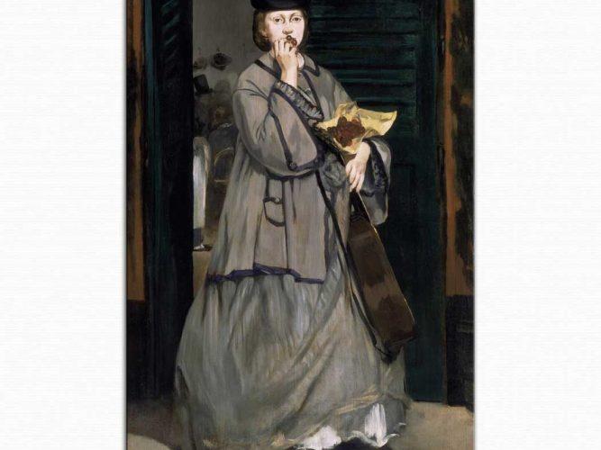 Edouard Manet sokak şarkıcısı