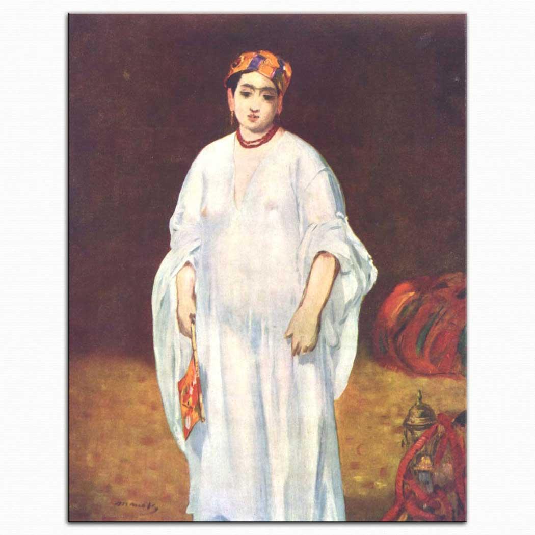Edouard Manet Sultanın hanımı