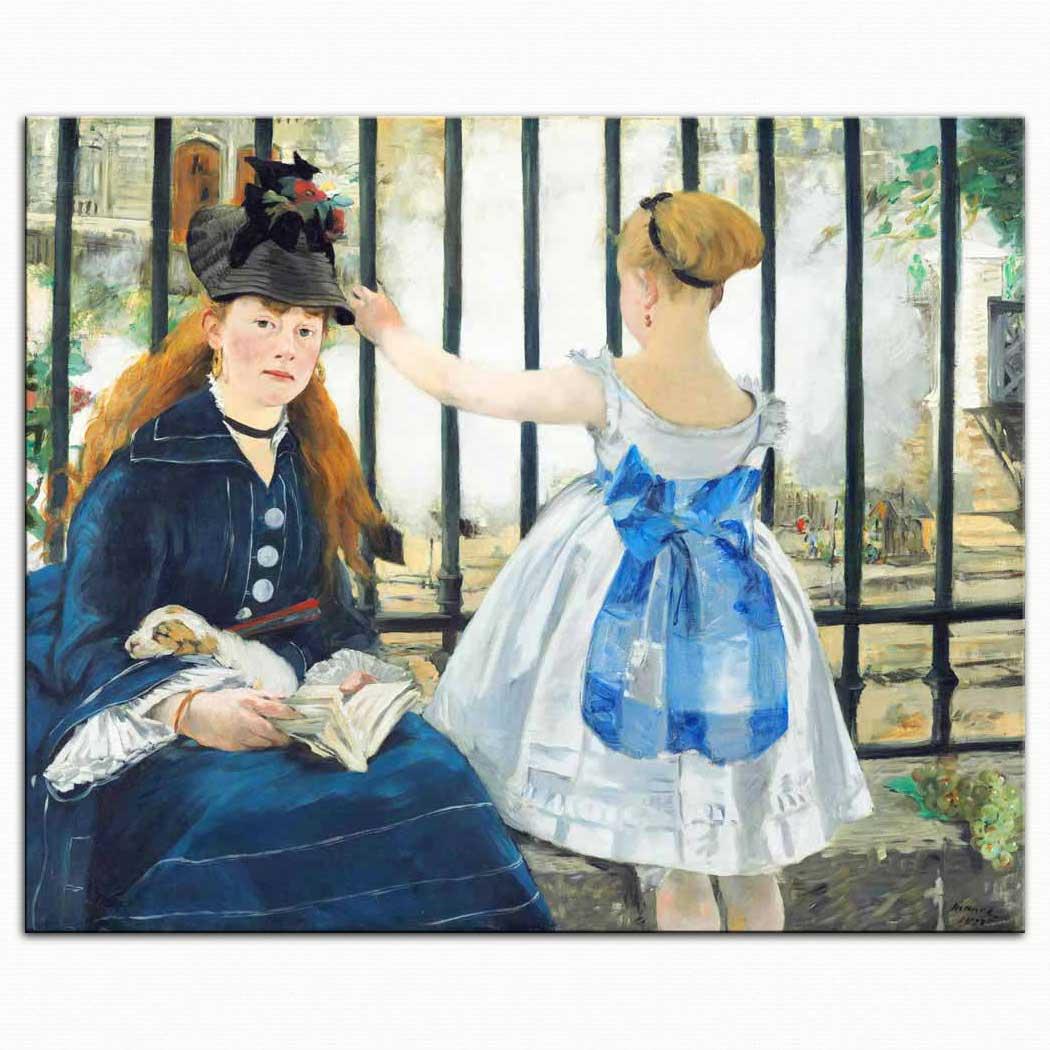 Edouard Manet Tren Yolu