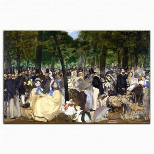 Edouard Manet Tuilerien'de Konser
