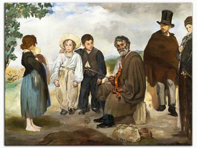 Edouard Manet Yaşlı Müzisyenler