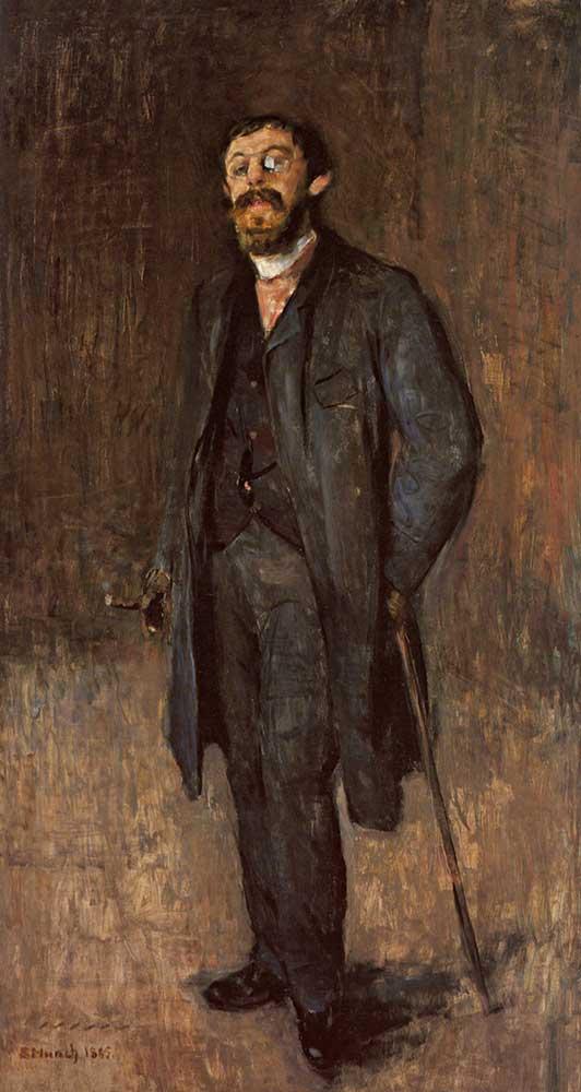 Edvard Munch Ressam Jensen Hjell