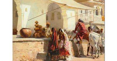 Edwin Lord Weeks Hindistan'da Pazar Yeri
