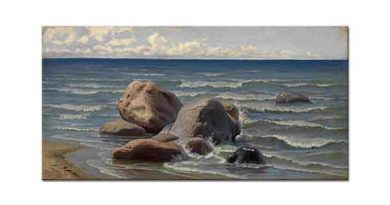 Efim Volkov Deniz Manzarası