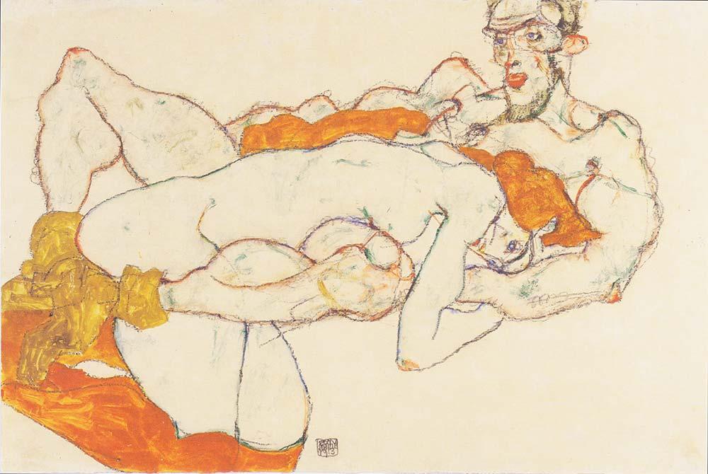 Egon Schiele Şevişenler