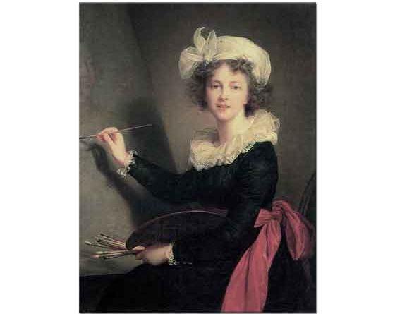 Elisabeth Vigee Le Brun Kendi Portresi