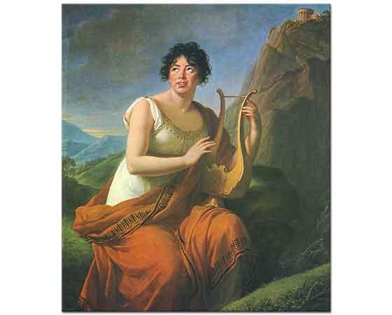 Elisabeth Vigee Le Brun Madam de Stael