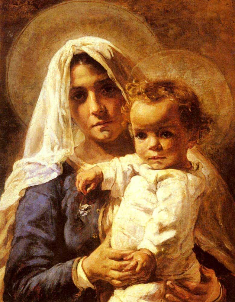 Elizabeth Nourse Anne ve Çocuğu