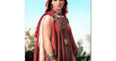 Emile Vernet Lecomte Berberi Kadın