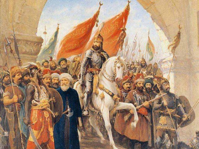 Fausto Zonaro Istanbul'un Fethi