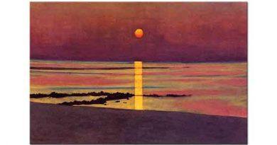 Felix Vallotton Denizde Gün Batımı
