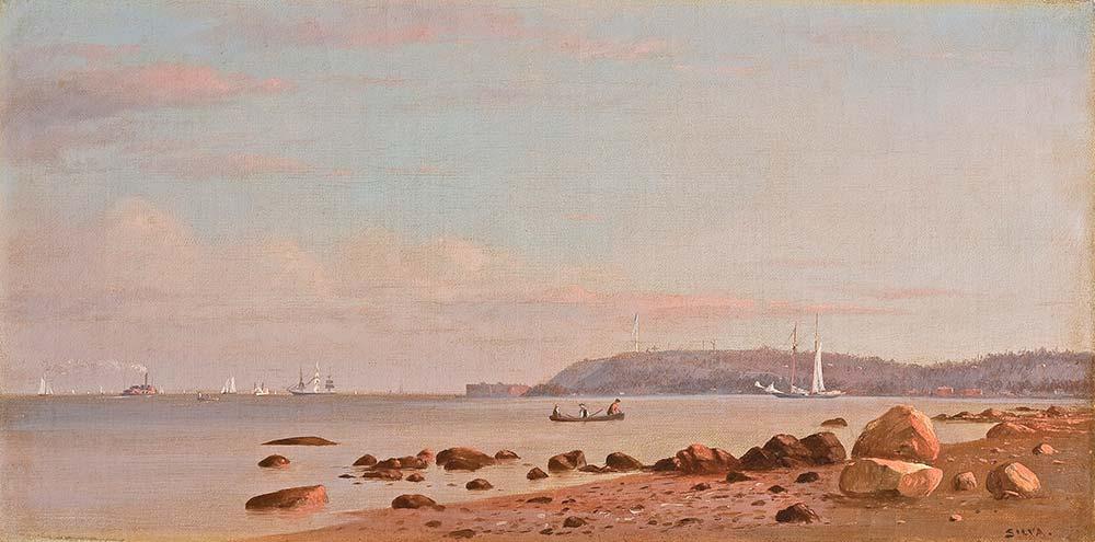 Francis Augustus Silva New England Kıyısı