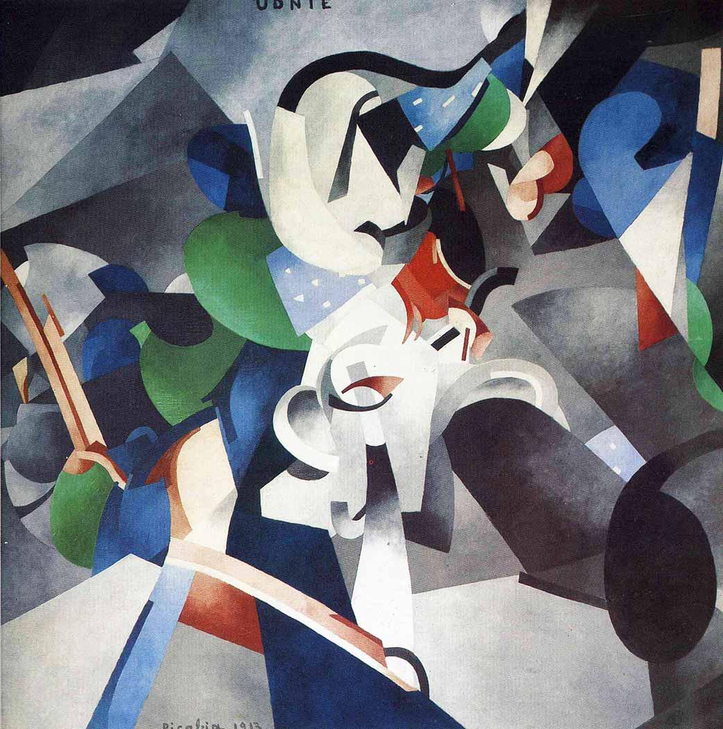 Francis Picabia Amerikalı Genç Kız
