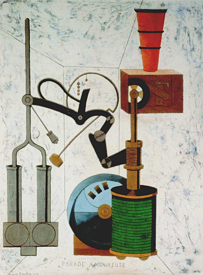 Francis Picabia Aşk Alayı