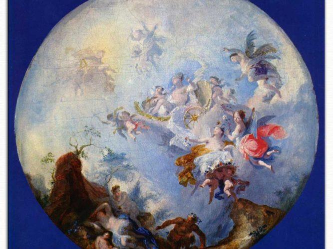 Franz Anton Maulbertsch Jupiter ve Antiope