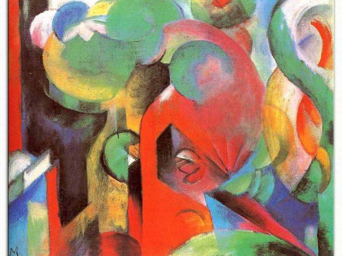 Franz Marc Kompozisyon 03