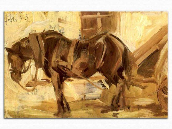 Franz Marc Küçük bir At Etüdü