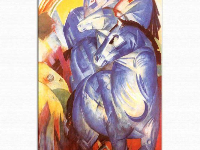 Franz Marc Mavi Atlar Kulesi 02