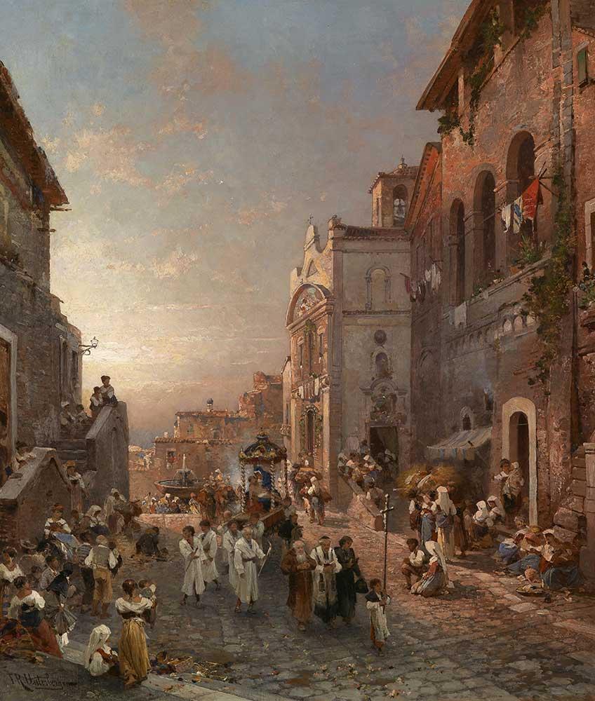Franz Richard Unterberger Napoli