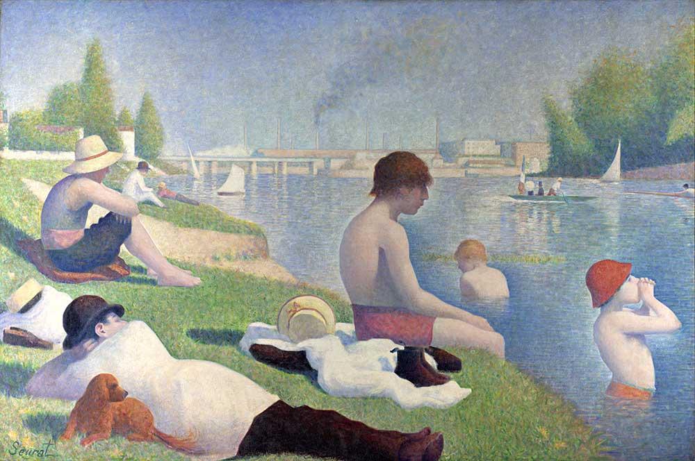 Georges Seurat Asnieres Plajı