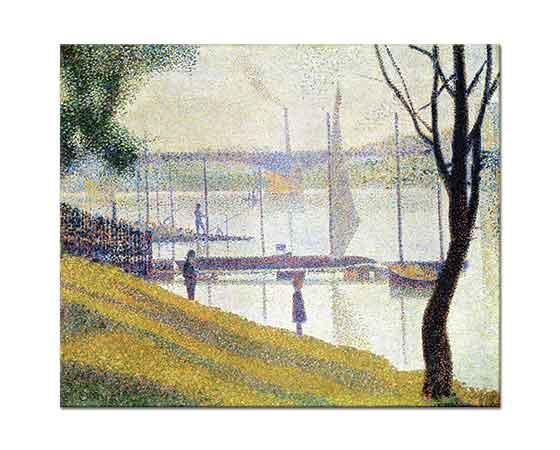 Georges Seurat Courbevoie Köprüsü