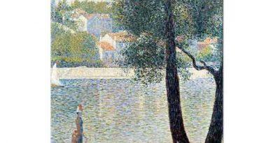 Georges Seurat Courbevoie'de Sen Kıyısı