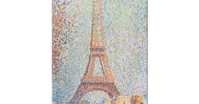 Georges Seurat Eyfel Kulesi