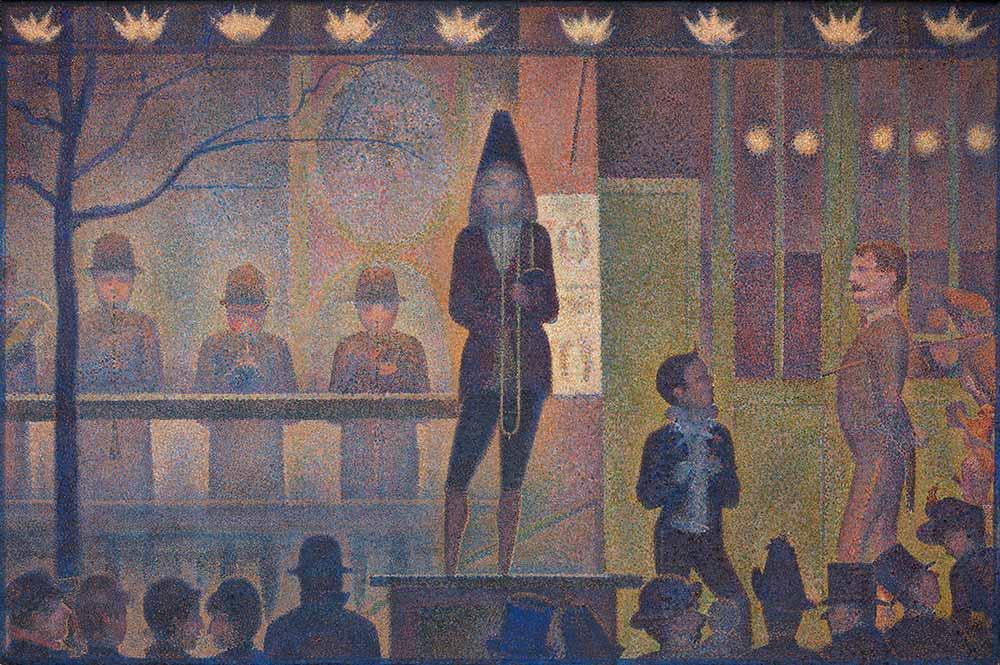 Georges Seurat Gösteriye Davet