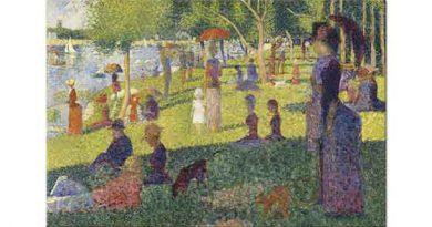 Georges Seurat Jatte Akşamı için Etüd