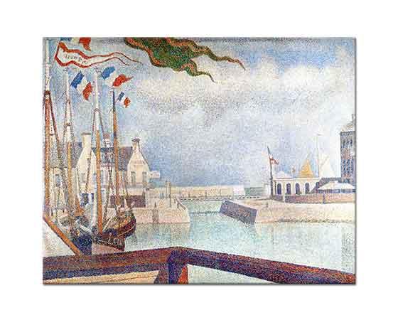 Georges Seurat Limanda Tekneler