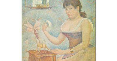 Georges Seurat Makyaj