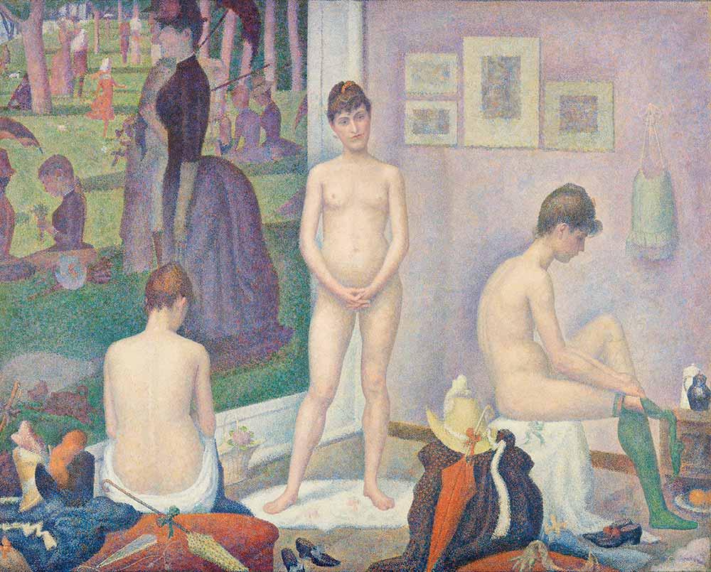 Georges Seurat Modeller