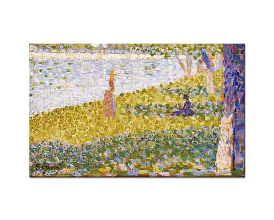 Georges Seurat Nehir Kıyısında