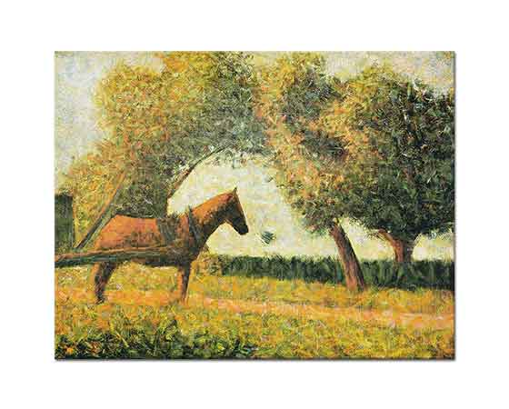 Georges Seurat Orman Yolunda