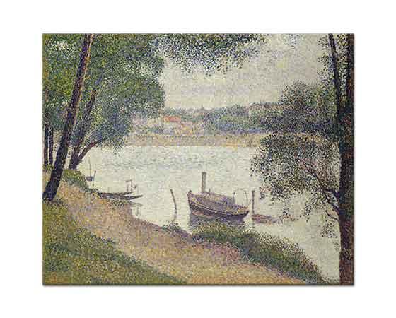Georges Seurat Puslu Bulutlu Hava
