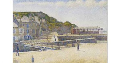Georges Seurat Sahil Kasabası
