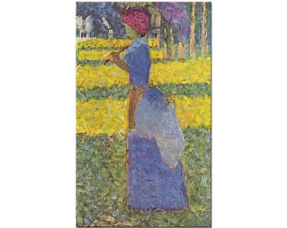 Georges Seurat Şemsiyeli Kadın