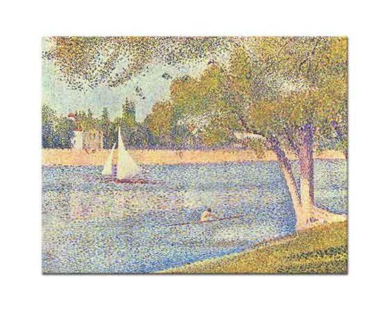 Georges Seurat Sen Kıyısında
