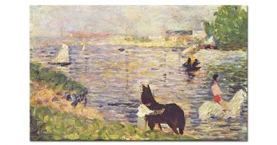 Georges Seurat Suda Atlar